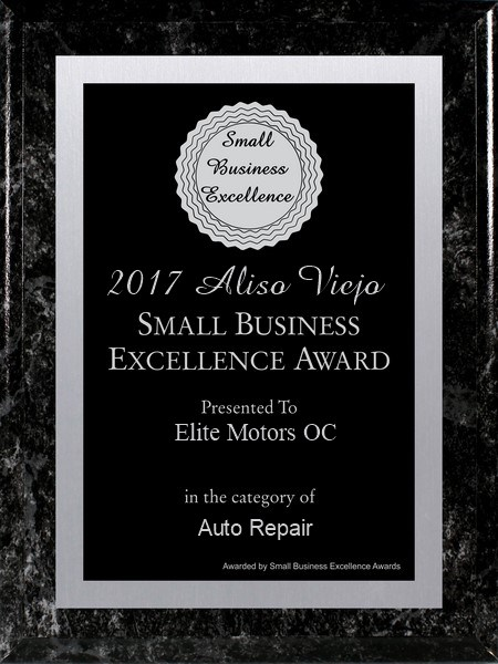EliteMotorsOC Award