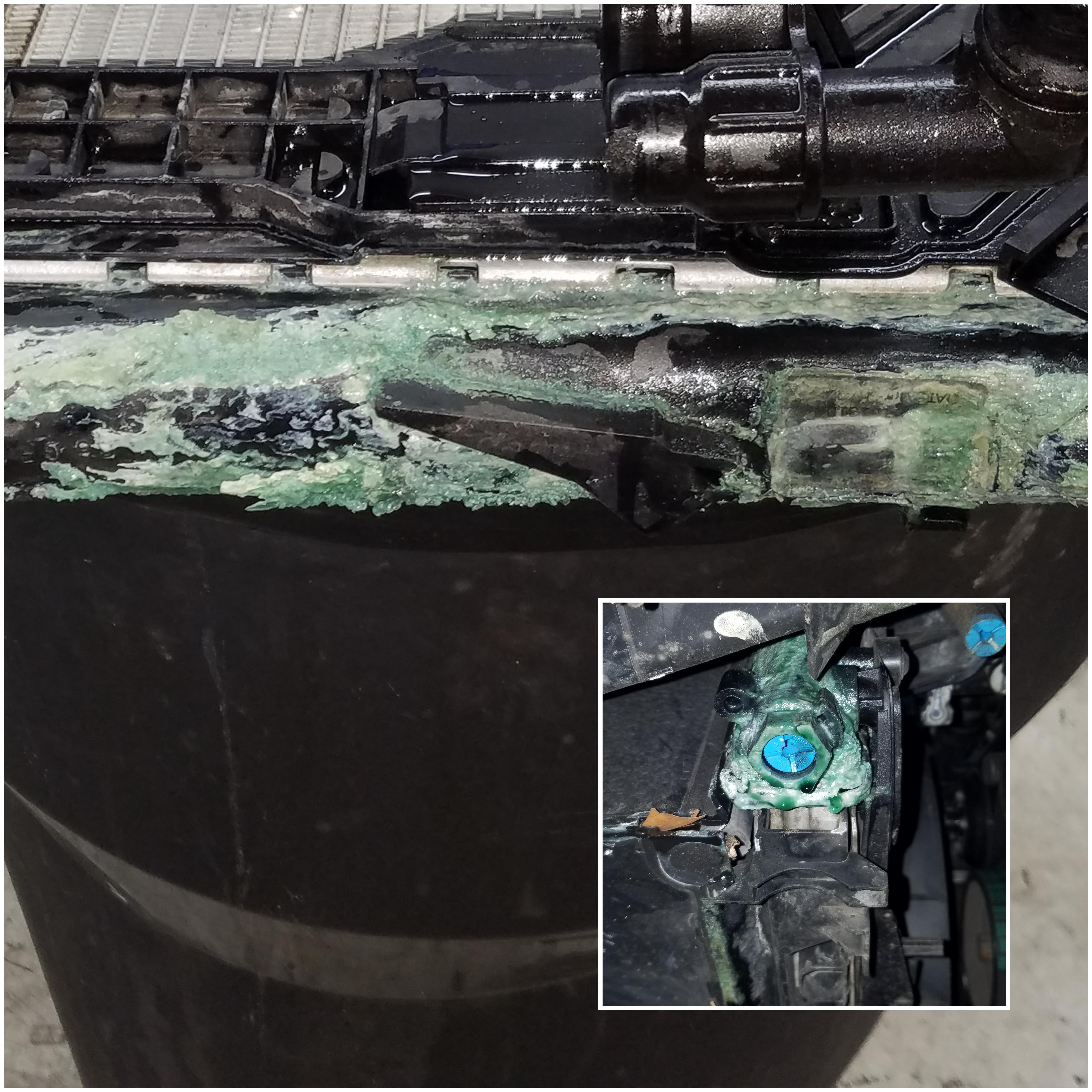 Coolant leak - Elite Motors OC